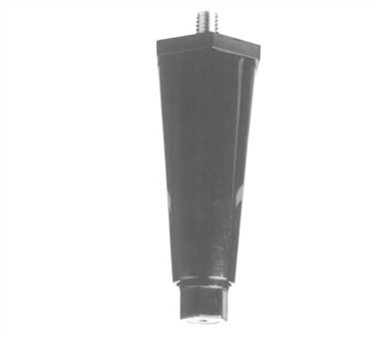 Franklin Machine Products  190-1127 Leg, Adj (4, 3/8 Thd, Black)