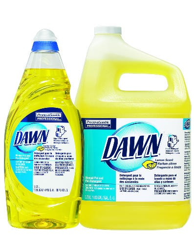 Lemon Dawn Dishwashing Liquid Bottle, 38 Oz