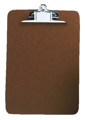Letter-Size Clipboard, Brown