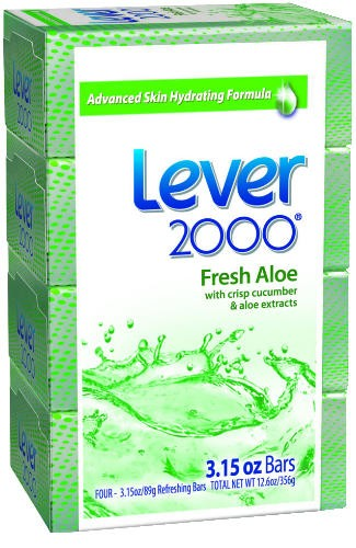 Lever 2000� Perfectly Fresh™ Original Bar Soap, 3.15 Oz