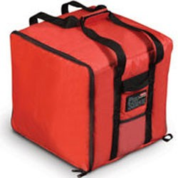 Lge Pizza Catering Bag,Red