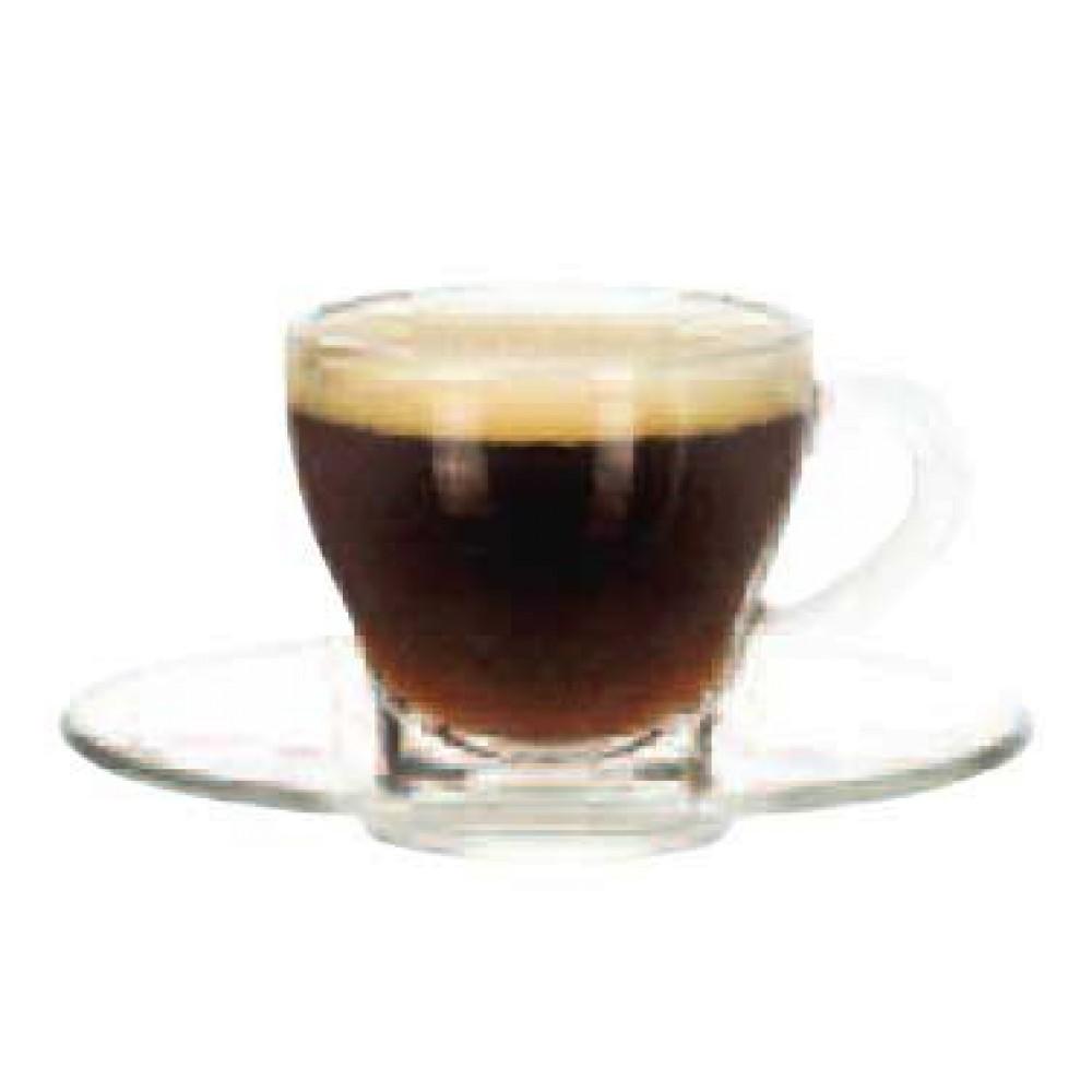 "Libbey Glass 13208919 Espresso Saucer 4 5/8"""