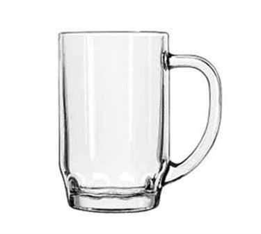 Libbey Glass 5303 19.5 oz. Thumbprint Stein