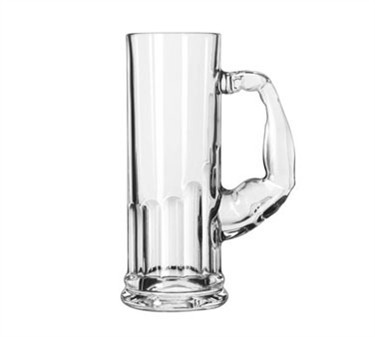 Libbey 20 Oz. Glass Muscle Mug