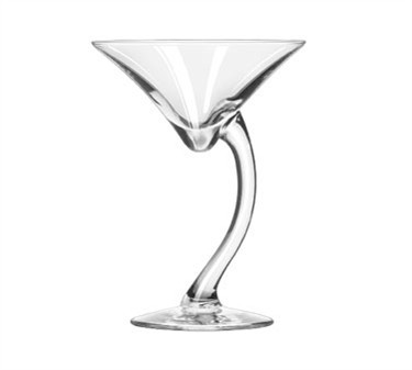 Libbey Glass 7700 Bravura 6-3/4 oz. Martini Glass
