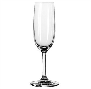Libbey Bristol Valley 6 Oz. Flute Glass With Sheer Rim