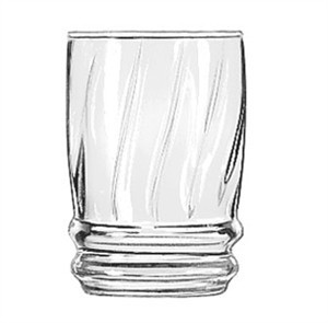 Libbey Glass 29011HT Cascade 6 oz. Heat-Treated Juice Glass