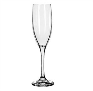 Libbey Charisma 6 Oz. Tall Flute Glass With Safedge Rim/Foot