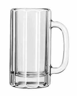 Libbey Glass 5016 Classic 12 oz. Paneled Mug