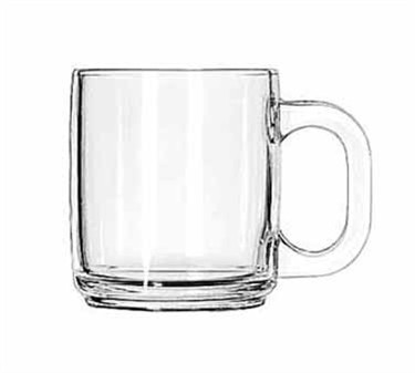 Libbey Glass 5201 Glass 10 oz. Coffee Mug
