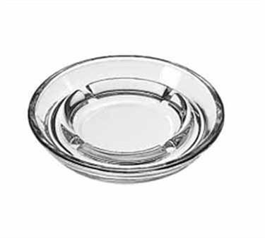 "Libbey Glass 5164 Glass Safety Ash Tray 5"""