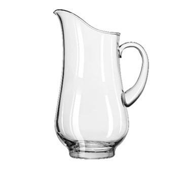 Libbey Glass 1787724 Atlantis 2.3 Qt. Glass Pitcher