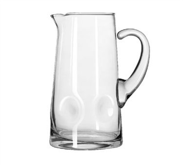 Libbey Glass 1790907 Crisa Impressions 90 oz. Glass Pitcher