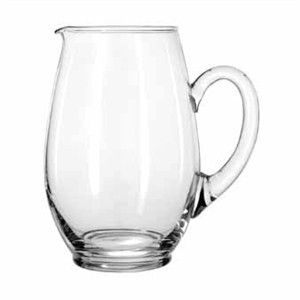 Libbey Glass 1783127 Crisa Mario 67 oz. Glass Water Pitcher