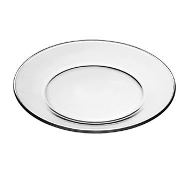 Libbey Glass 1788489 Crisa Moderno Tempered-Glass Dinner Plate 10-1/2""