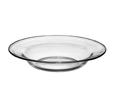 Libbey Crisa Moderno Tempered-Glass Soup/Salad Plate - 9