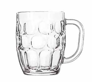 Libbey Glass 5355 Dimple Stein 19-1/4 oz. Beer Mug