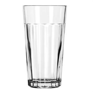 Libbey Glass 15642 DuraTuff 16 oz. Paneled Glass Tumbler