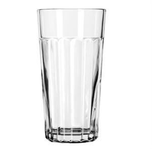 Libbey Glass 15643 DuraTuff 20 oz. Paneled Glass Tumbler