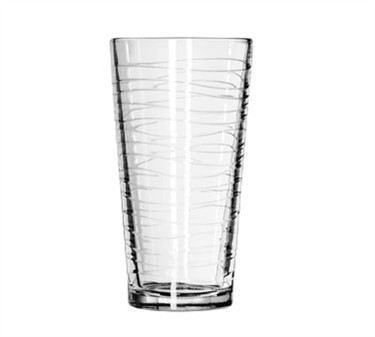 Libbey Glass 15646 DuraTuff 20 oz. Waves Cooler Glass