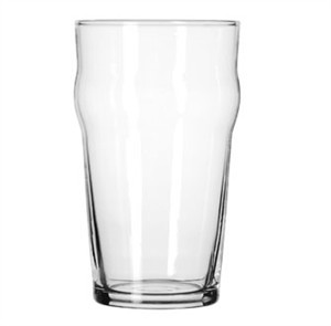 Libbey Glass 14801HT DuraTuff 20 oz. English Pub Glass