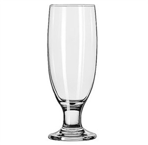 Libbey Embassy 12 Oz. Beer/Pilsner Glass With Safedge Rim/Foot