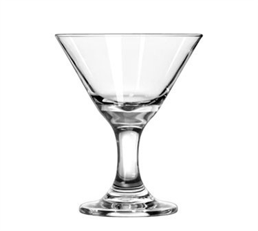 Libbey Glass 3701 Embassy 3 oz. Mini Martini Glass