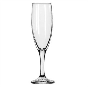 Libbey Embassy 4-1/2 Oz. Flute Glass With Safedge Rim/Foot