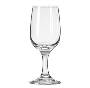 Libbey Embassy 6-1/2 Oz. Tall Wine Glass With Safedge Rim/Foot