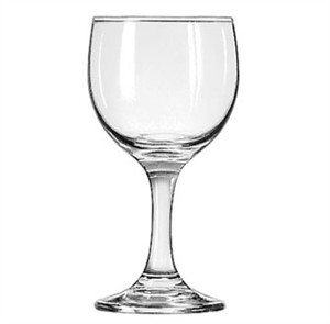 Libbey Embassy 6-1/2 Oz. Wine Glass With Safedge Rim/Foot