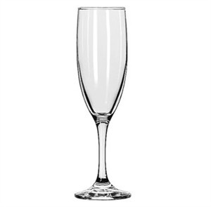Libbey Embassy 6 Oz. Flute Glass With Safedge Rim/Foot