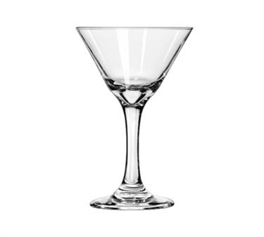 Libbey Glass 3733 Embassy 7-1/2 oz. Martini Glass