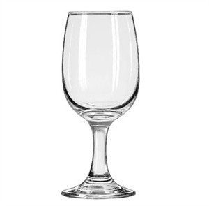 Libbey Glass 3765 Embassy 8-1/2 oz. Tall Wine Glass