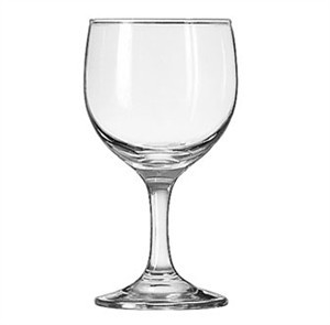 Libbey Embassy 8-1/2 Oz. Wine Glass With Safedge Rim/Foot