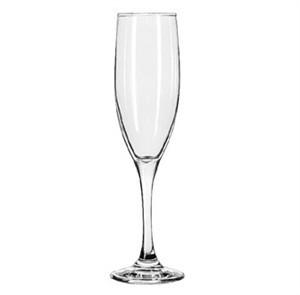 Libbey Glass 3796 Embassy Royale 6 oz. Tall Flute Glass