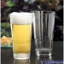 Libbey Glass 15720 Endeavor DuraTuff 16-1/2 oz. Stackable Pub Glass