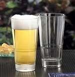 Libbey Glass 15720 Endeavor DuraTuff 16-1/2 oz. Stackable Pub Glass