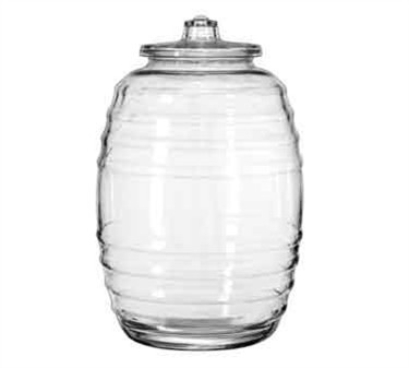 Libbey Glass 9520004 Crisa 20 Liter Glass Barrel with Lid