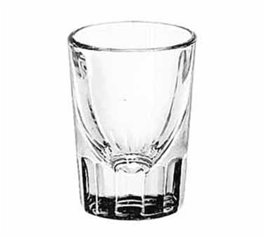 Libbey Glass 5127 Fluted 1-1/2 oz. Whiskey Shot Glass