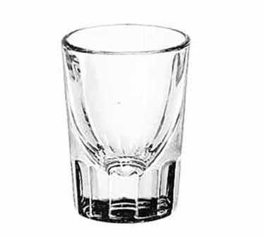 Libbey Glass 5126 Fluted 2 oz. Whiskey Shot Glass
