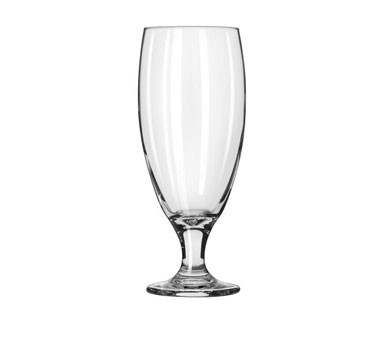 Libbey Glass 3804 Footed Beers 16 oz. Pilsner Glass