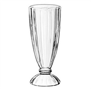 Libbey Glass 5110 Fountainware 12 oz. Ice Cream Soda Glass