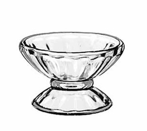 Libbey Glass 5102 Fountainware 3-1/2 oz. Glass Sherbet Dish
