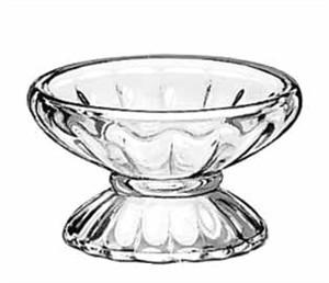 Libbey Glass 5103 Fountainware 4-1/2 oz. Glass Sherbet Dish