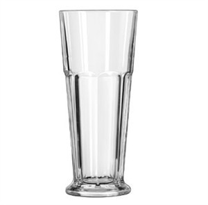 Libbey Glass 15673 Gibraltar DuraTuff 16-3/4 oz. Footed Pilsner Glass