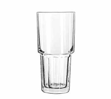 Libbey Glass 15651 Gibraltar DuraTuff 16 oz. Stackable Cooler Glass