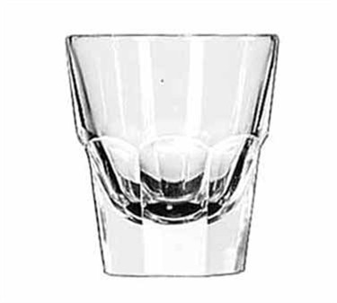 Libbey Glass 15248 Gibraltar DuraTuff 4-1/2 oz. Rocks Glass