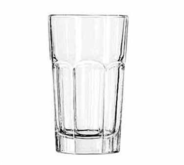 Libbey Glass 15239 Gibraltar DuraTuff 7 oz. Hi-Ball Glass