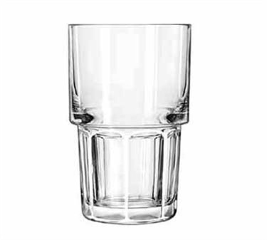 Libbey Glass 15656 Gibraltar DuraTuff 9 oz. Stackable Hi-Ball Glass