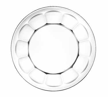 """Libbey Glass 15411 Gibraltar DuraTuff Glass Salad/Dessert Plate 7-1/2"""" Dia."""